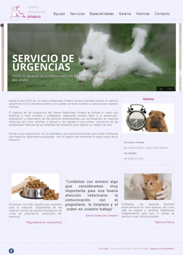 Centro Veterinario Artabro